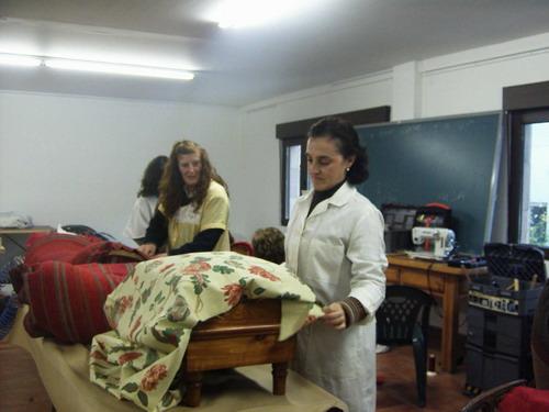 Ayuntamiento de val de san vicente clausurado el taller - Talleres de tapiceria ...